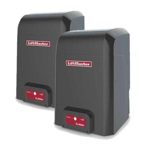 LiftMaster Elite Series Professional Dual Slide Gate Opener - DualSL3000501UL 1/2 HP