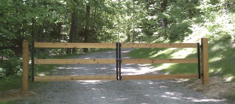 Gate Crafters 3 Rail Dual Farm Gate Frame Kit