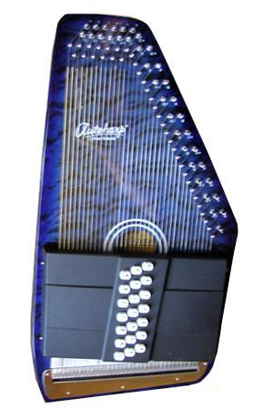 Oscar Schmidt Autoharp   Oscar Schmidt OS21CQ AutoHarp - Classic TB