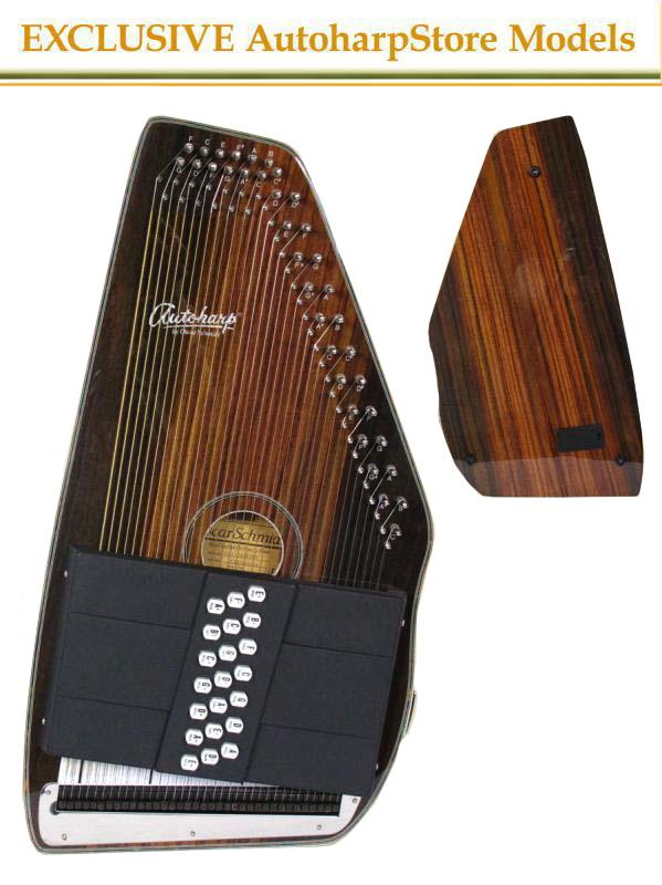Autoharp | Oscar Schmidt OS11021FSRE 21 Chord Electric AutoHarp
