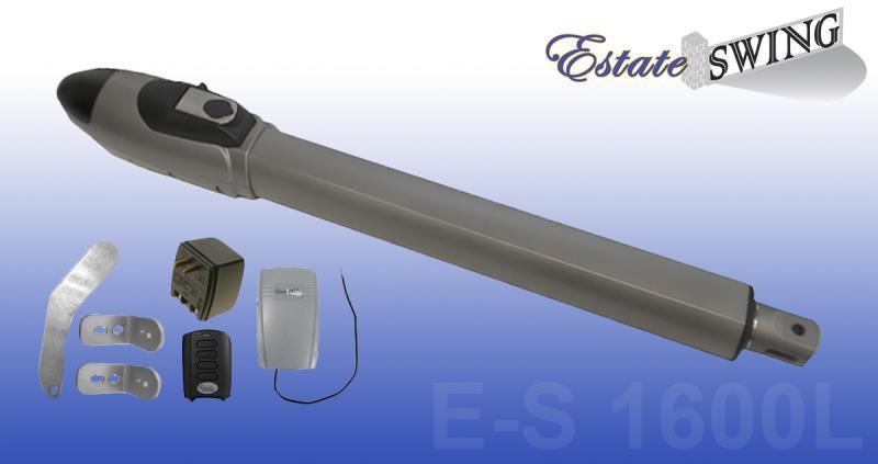 Gate Opener Estate Swing E-S1600L Single Gate Opener w/Free Extra Remote