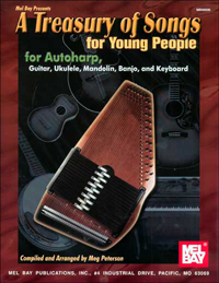 A Treasury of Songs for Young People by Meg Peterson (99906)