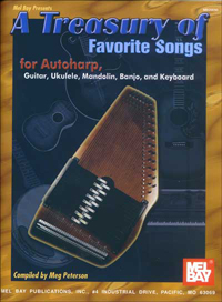 A Treasury of Favorite Songs for Autoharp by Meg Peterson (20050)