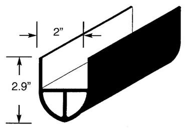 Miller Safety Edge Gate Bumper- 6 ft (GB0101-6)