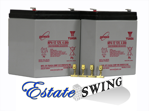Estate Swing 24 Volt Battery Kit (24VKIT)