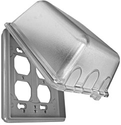 Multi-Mac Outdoor Plug Cover - Large (MM2440C-B)