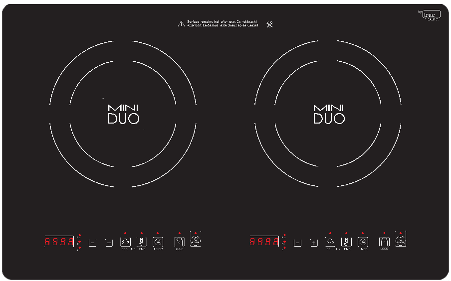Mini Duo Induction Cooktop
