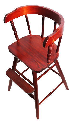 Rosewood Finish New Sargent's Youth Chair