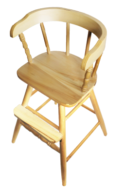 Clear Finish New Sargent's-  Youth Chair