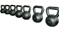Troy 60 lb. Black Cast Kettlebells (KB-060)