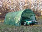 One Car Round Style 12x20x8 by Shelter King