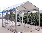 Dog Kennel 7.5 x 7.5 x 4  by Shelter King