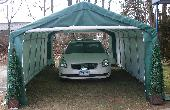 Extended Storage House Style 12 x 24 x 8 by Shelter King