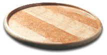 14 in. Round Lazy Susan w/ Lip and Lacquer Finish (Product ID = 1214)