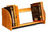 Jiffy Book/Video/CD Rack Natural (Product ID = 3304)