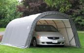 12' x 24' x 8' Round Top Shelter by Shelter Logic