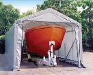 14' x 28' x 12' Peak Style Shelter by Shelter Logic