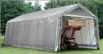 14' x 36' x 16' Peak Style Shelter by Shelter Logic