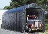 14' x 44' x 16' Peak Style Shelter by Shelter Logic