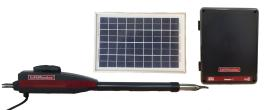 LiftMaster / Chamberlain LA-412 Single Swing Solar Gate Opener w/ 10w Solar Panel & MyQ Technology