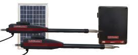 LiftMaster / Chamberlain LA-412-D Dual Swing Solar Gate Opener w/ 10w Solar Panel w/ MyQ Technology