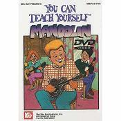 You Can Teach Yourself Mandolin Book/CD/DVD Set- $24.95