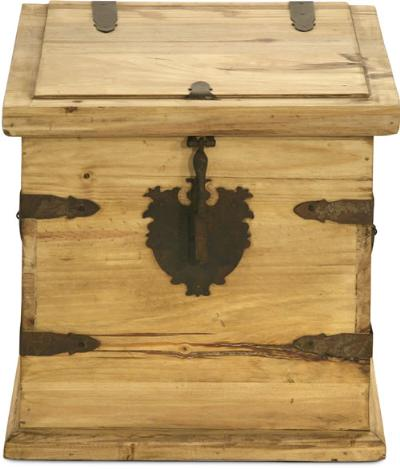 Unfinished Wooden Chest