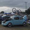 VW Bug Bike Rack