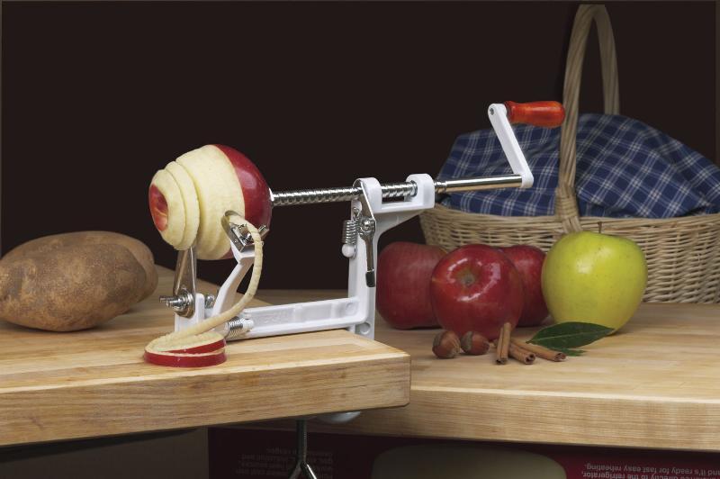Universal Apple Peeler