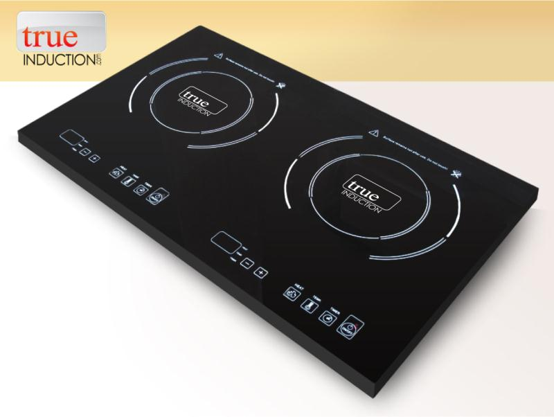 True Induction Portable Double Burner Induction Cooktop