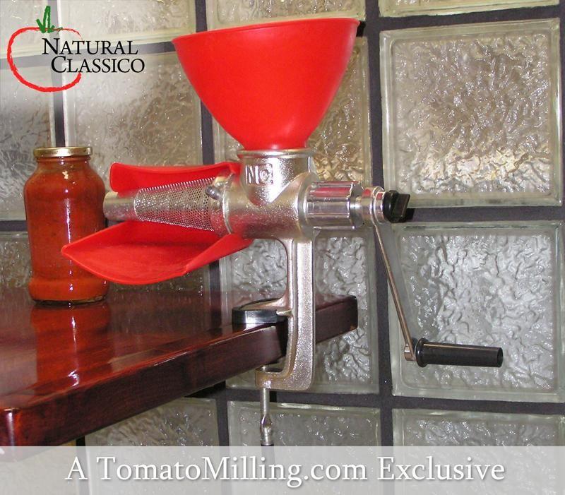 Natural Classico Manual Tomato Milling Machine