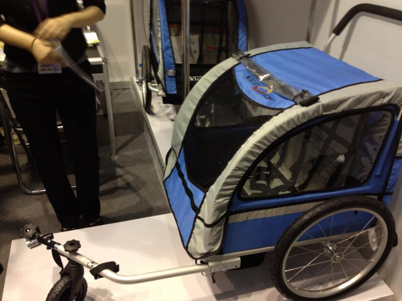 Child and Pet Toting Trailers for Bicycles