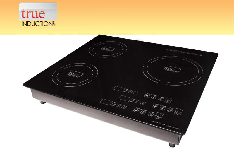 True Induction Triple Burner