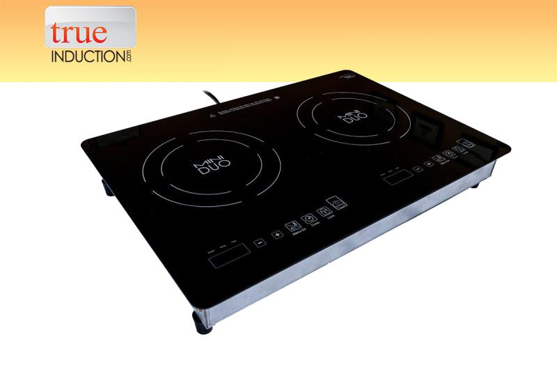 True Induction Mini Duo Double Burner Induction Cooktop