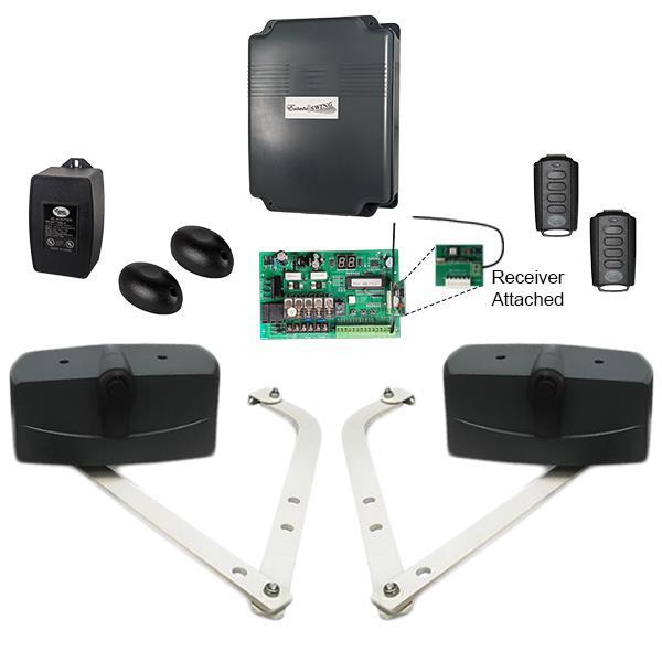 Estate Swing Heavy Duty Carriage Door Opener Kit (E-SCAR 1602)
