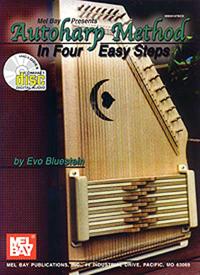 Autoharp Method- In Four Easy Steps by Evo Bluestein (99187BCD)