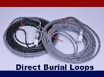 BD Loops PreFormed Direct Burial Safety or Exit Loops w / 40 Ft. Lead