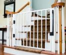 Custom Sized Aluminum Baby Gate For Top Of Stairs