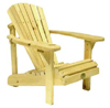 The Bear Chair Kid's Adirondack Chair PINE (BC150P) - Sargent's-Natural #209